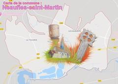 Neaufles-Saint-Martin  27830 carte