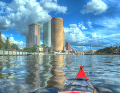 Tampa Skyline from the River