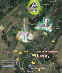 Guerny 27720 Carte Satellite