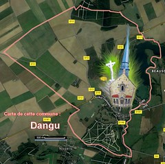 Dangu  27720 Carte Satellite