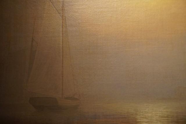 Photo:Ship in Fog Gloucester Harbor PUAM(17) By rverc