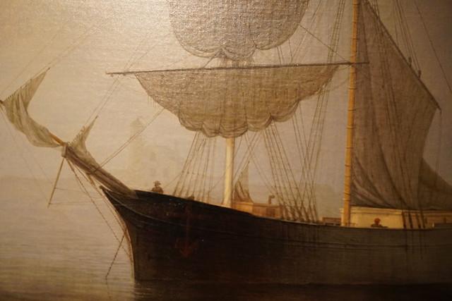 Photo:Ship in Fog Gloucester Harbor PUAM(10) By rverc