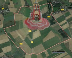 3 Gamaches-en-Vexin 0 Carte Satelitte