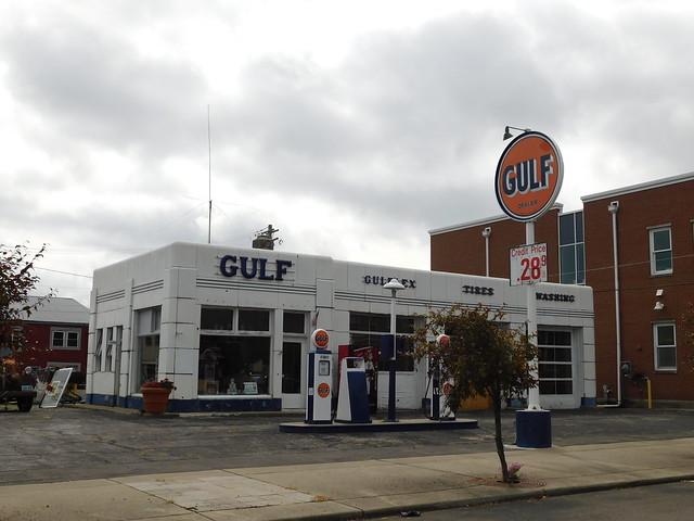Photo:The Old Gulf Service Station By jimmywayne