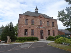 Estrées (Nord) - la mairie en 2020 (3)