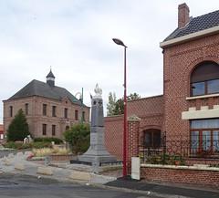 Estrées (Nord) - la mairie en 2020 (2)