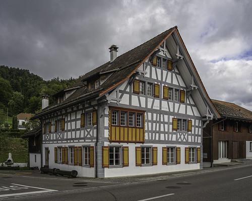 Zur Alten Schnitte (built 1706), Fischingen, Canton of Thurgau, Switzerland