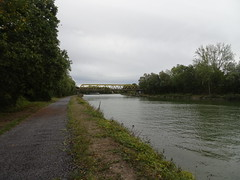 Gœulzin, Canal de la Sensée - Photo of Masny