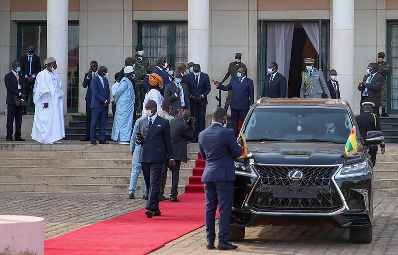 Déjeuner à la Présidence et départ Pour Dakar