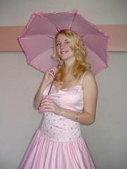 Pink parasol prettiness