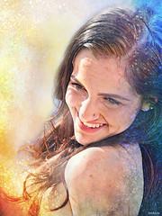 Sizzling Sand Sun Sea Splattered Sensual Smiling Siren - IMRAN™