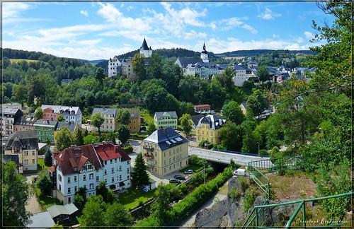 Blick vom Ottenstein auf Schwarzenberg
