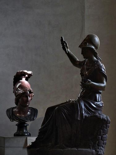 Minerva seduta Coll. Card. Mazarino Ma1056; Sala del Maneggio