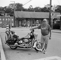 Ted and his Harley