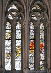 Les vitraux de Marc Chagall (cathédrale St-Étienne, Metz)