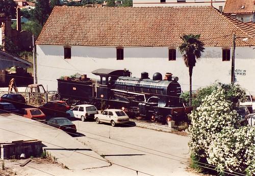 Steam locomotive CP 201