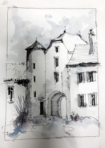 Tour et maisons d'Arzacq