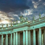 The Colonnades of St. Peter's Square - https://www.flickr.com/people/74012092@N00/