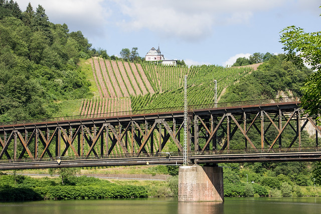 Photo:Alf-Bullay Double-Decker Bridge, Mosel, Germany By Billy Wilson Photography