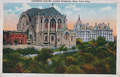 Cathedral and St. Luke's Hospital, New York City.