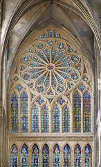 Le grande Rose (Cathédrale St-Étienne, Metz)