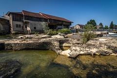 L'ancien moulin de Pont de Poitte