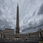 THE VATICAN OBELISK (D81_1820s) - https://www.flickr.com/people/52923744@N05/