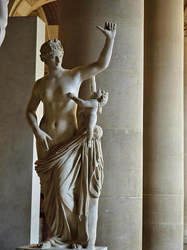 Venere e Cupido Coll. Card. Richelieu Ma2278; Sala del Maneggio