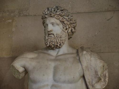 Giove di Versailles da Porta del Popolo Coll. Reali Ma78; Sala del Maneggio