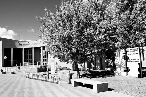 Monumento a las Brigadas Internacionales, Universidad de Castilla-La Mancha, Albacete