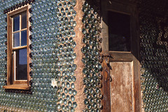 Calico Ghost Town: the Bottle House