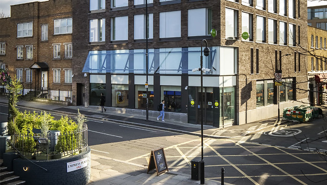 Photo:Hub by Premier Inn, West Brompton 2 By PROTEUS Engineered Facade Technology