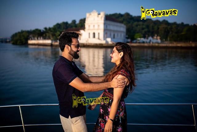 Pre-Wedding Photo Shoot on Yacht in Goa