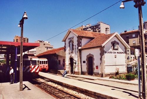 Estação de São João da Madeira, Portugal