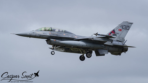 Turkish Air Force F-16DJ Fighting Falcon
