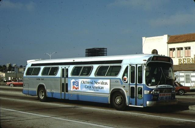 Photo:1972 GMC Fishbowl San Diego Transit Bus. 434 By NeoplanKid79