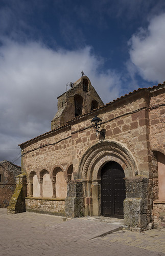 Romanillos de Atienza iglesia de San Pedro Apóstol.