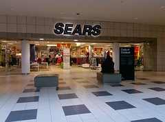 Lower level Sears Wolfchase mall entrance