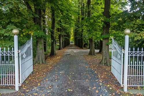 Open door...for autumn