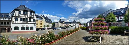 Marktplatz zu Zwönitz