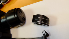 Additional Macro rings for MFT and Panasonic camera
