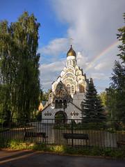 Neo-russian modern style church / 1916