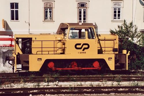 Diesel-hydraulic shunter CP 1177
