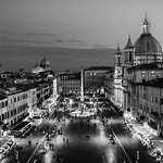 Piazza_Navona_BW - https://www.flickr.com/people/45586819@N00/