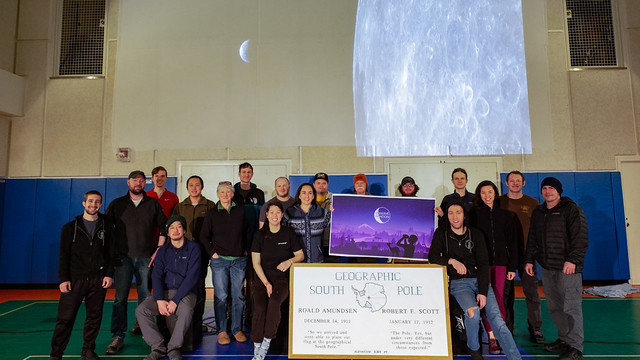Photo:International Observe the Moon Night Group Photo By MyMoon LPI