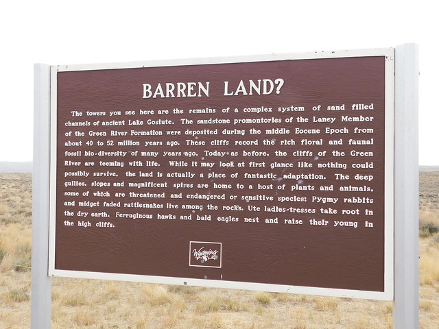 Photo:Barren Land Historic Marker By jimmywayne