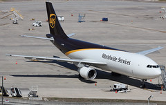 N141UP UNITED PARCEL SERVICE (UPS) AIRBUS A300F4-600