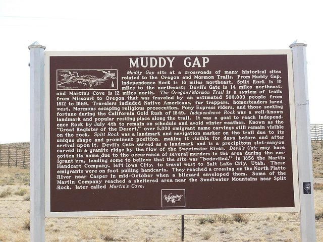 Photo:Muddy Gap Historic Marker By jimmywayne