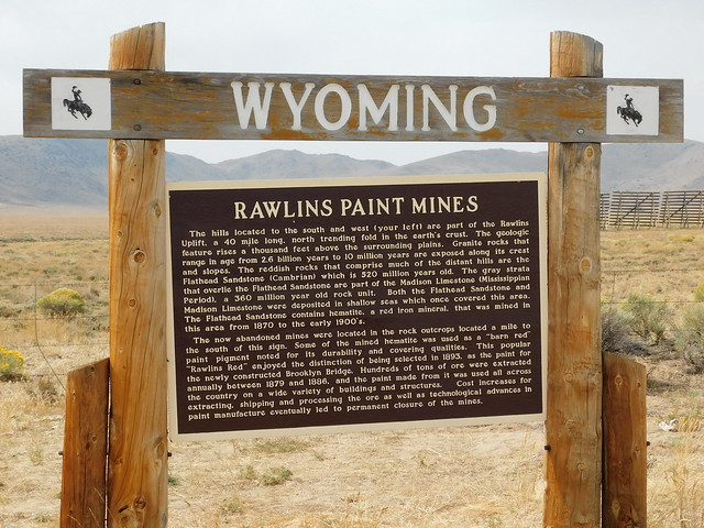 Photo:Rawlins Paint Mines Historic Marker By jimmywayne
