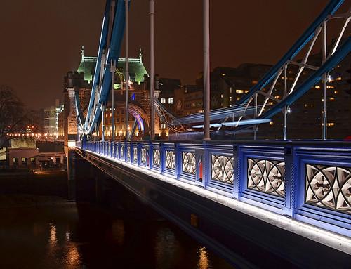 Tower Bridge after dark
